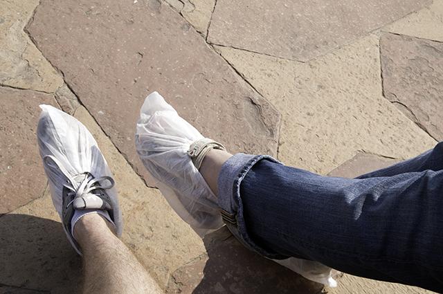 Taj_FootCovers